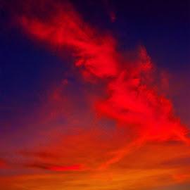 Burning Sky by El Baim as TOMMY AR - Landscapes Cloud Formations ( skyscraper, tommy, limboto, landscape, gorontalo )