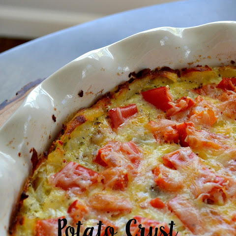Potato Crust Sausage Quiche
