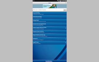 Screenshot of MediacomConnect