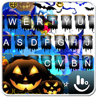 Live Lightning Halloween Keyboard Theme on PC / Windows 7.8.10 & MAC