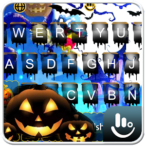 Live Lightning Halloween Keyboard Theme Released on Android - PC / Windows & MAC