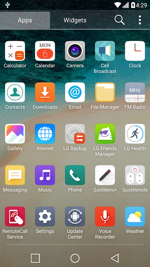 G5 UX 5.0 Theme for LGHome Screenshot 2