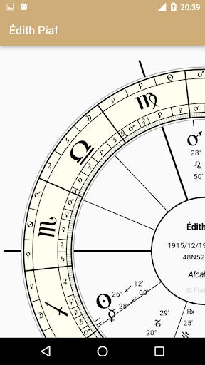 Astrology Charts - screenshot