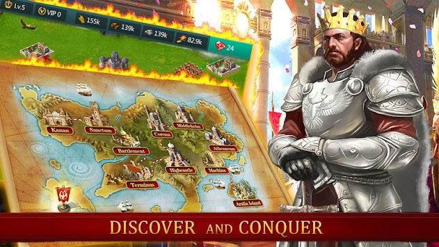 Age Of Kingdom : Empire Clash APK screenshot thumbnail 2
