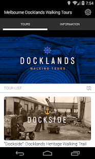 Docklands Walking Tours - screenshot
