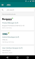 Screenshot of XING – Your business network