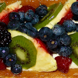 The fruit cake. by Peter DiMarco - Food & Drink Candy & Dessert ( fruit, sweet, food, pastry, dessert )