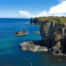 by Phil Bear - Landscapes Beaches ( coast, cliffs, lighthouse, uk, scotland )