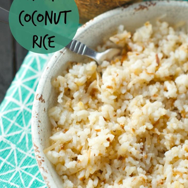 Colombian Coconut Rice (Arroz Con Coco) Recipe | Yummly