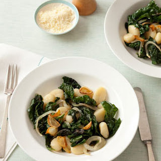 Gnocchi with Sautéed Swiss Chard