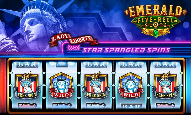 Emerald 5-Reel Free Slots Screenshot 2