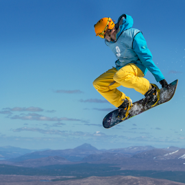 fly hi glencoe scotland by Michael  M Sweeney - Sports & Fitness Snow Sports ( michael m sweeney )