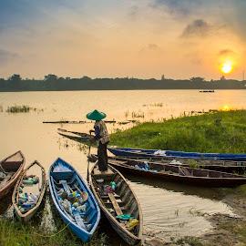 by Fandy Setyawan - Transportation Boats