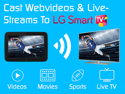 Video- und TV-Besetzung | LG Smart TV - HD-Videostreaming android apps download