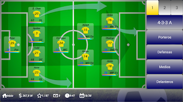 Screenshot of Soccer Manager 1