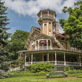Geneva Mansion by Sue Matsunaga - Buildings & Architecture Homes