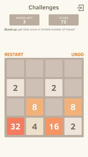 2048 Number puzzle game screenshot 11