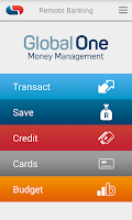 Screenshot of Capitec Remote Banking