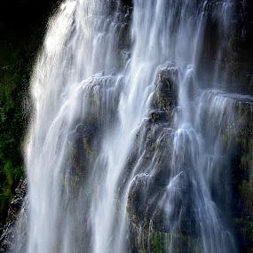 Where water falls by Danette de Klerk - Landscapes Waterscapes ( water, waterscape, waterfall, landscape photography, landscape,  )