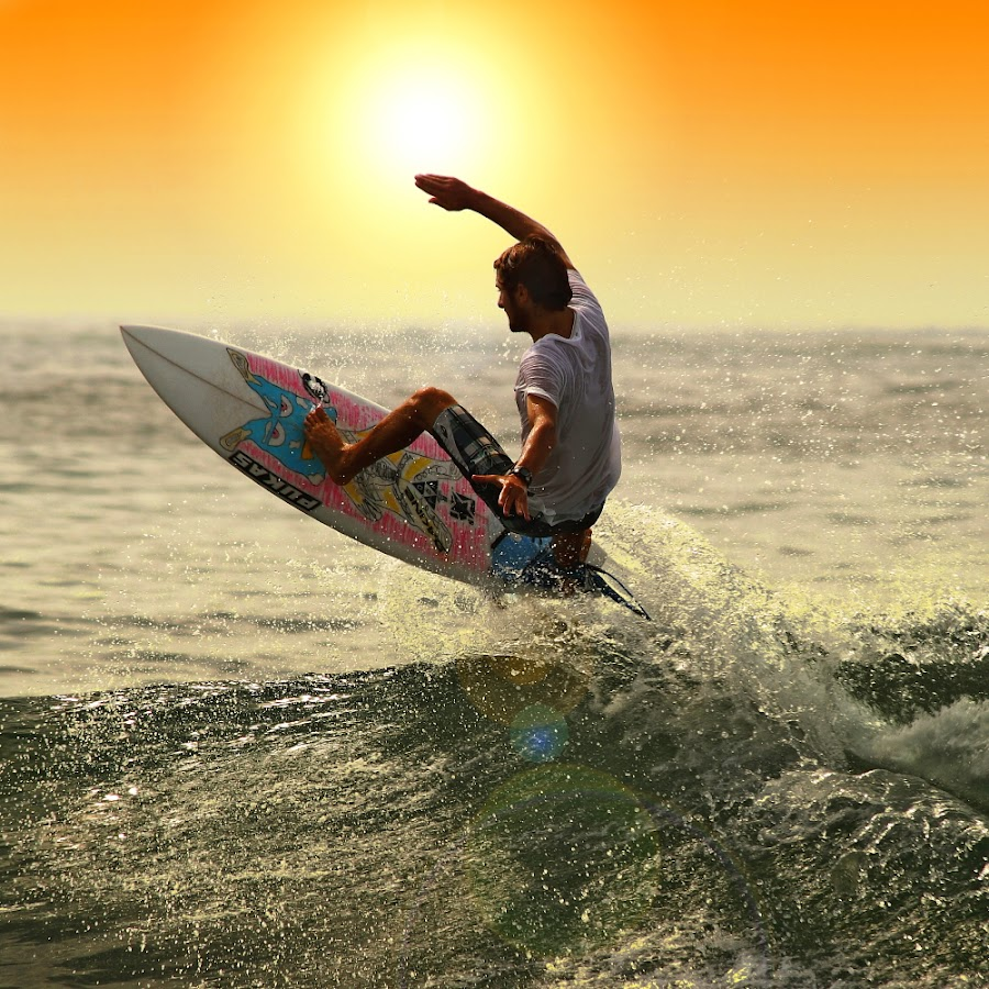 Blocking the sun rays by Alit  Apriyana - Sports & Fitness Surfing