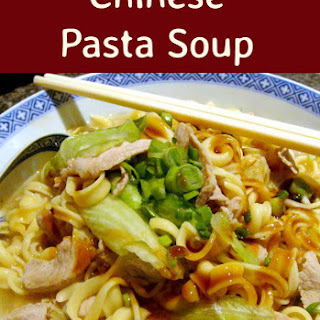 Chinese Pasta Soup Recipes