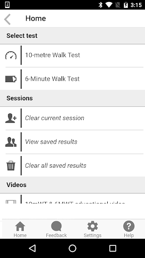 iWalkAssess screenshot for Android