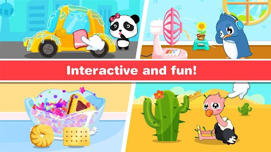 Baby-Pandas Animierte Aufkleber android spiele download