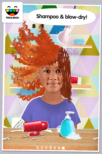 Toca Hair Salon Me screenshot 4