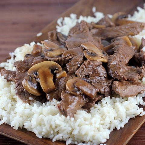 Chinese Beef with Mushrooms