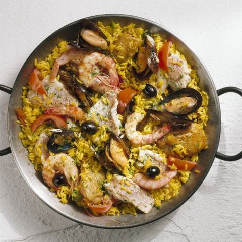 Spanish Rice with Chicken and Bream