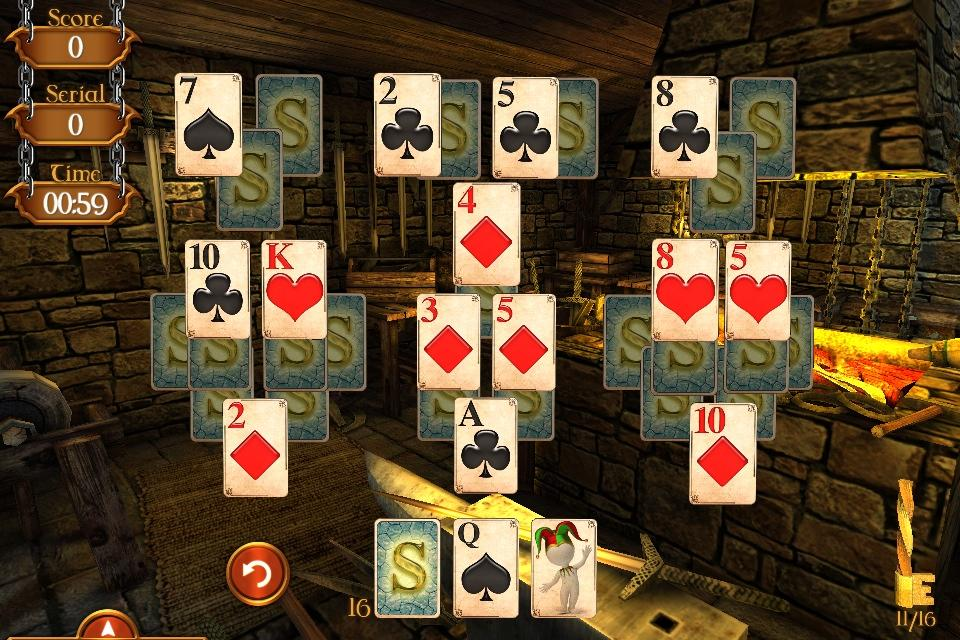 Solitaire Dungeon Escape Screenshot 2