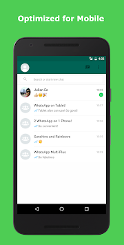 Multi Messenger For WhatsWeb APK screenshot thumbnail 7