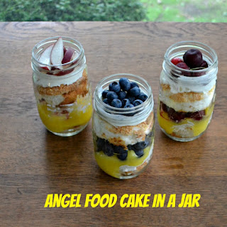 Angel Food Cakes in Jars