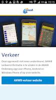 Screenshot of ANWB Verkeer