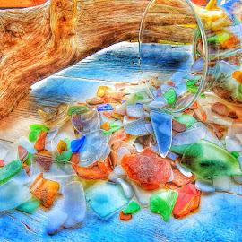 Sea Glass by Diane Merz - Digital Art Things (  )