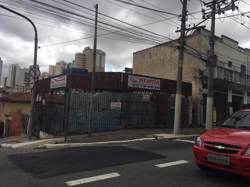 Terreno comercial para locação, Vila Regente Feijó, São Paulo - TE0171.