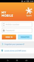 Screenshot of Spark NZ