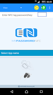NFC Tools - myPasswordNFC- screenshot thumbnail