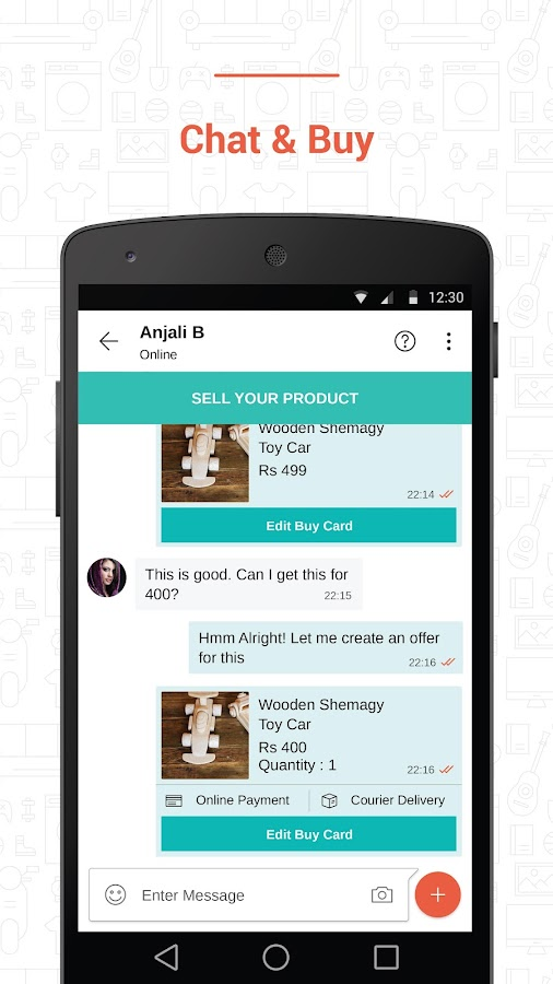 Shopo - Chat Buy Sell Screenshot 1