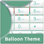 App Balloon Dialer Theme APK for Kindle