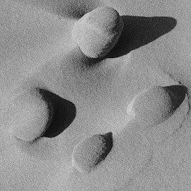 Into the details by Sissel Haga - Abstract Macro ( kleivdal photo, sand, grains, beach, shadows )
