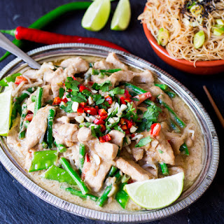Easy Peanut Pork with Crunchy Veg