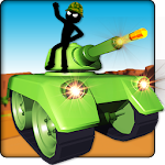 Stickman 3D Tank Hero Icon