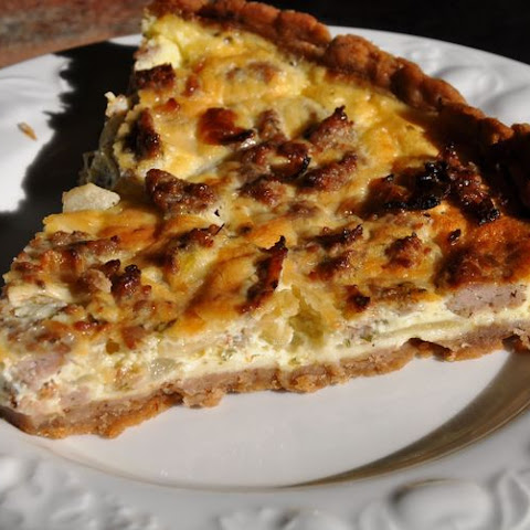 Sausage-Happy Brunch Tart