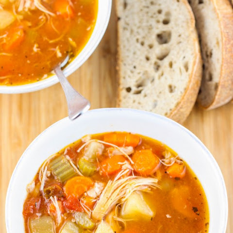 Zesty Crock Pot Chicken and Potato Stew