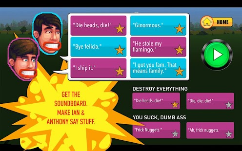 Smosh Super Head Esploder X - screenshot