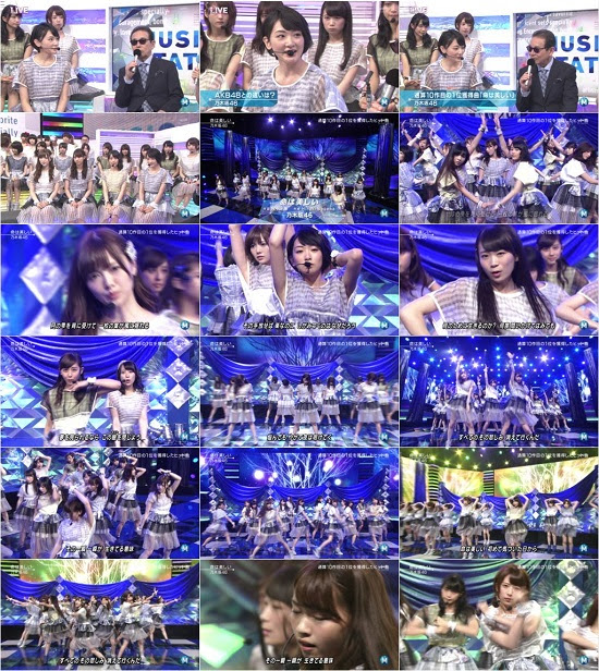 (TV-Music)(1080i) 乃木坂46 Part – Music Station 150619