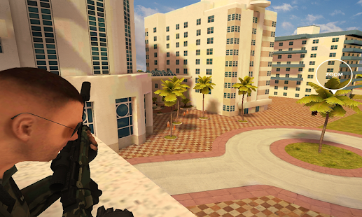 Miami SWAT Sniper Game Screenshot