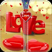 Download Heart Zipper Lock Screen APK to PC