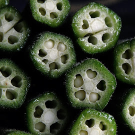 Okra by Pradeep Kumar - Food & Drink Fruits & Vegetables